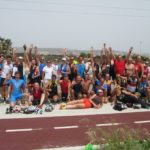 Общее фото со сборов по триатлону на Кипре 2016