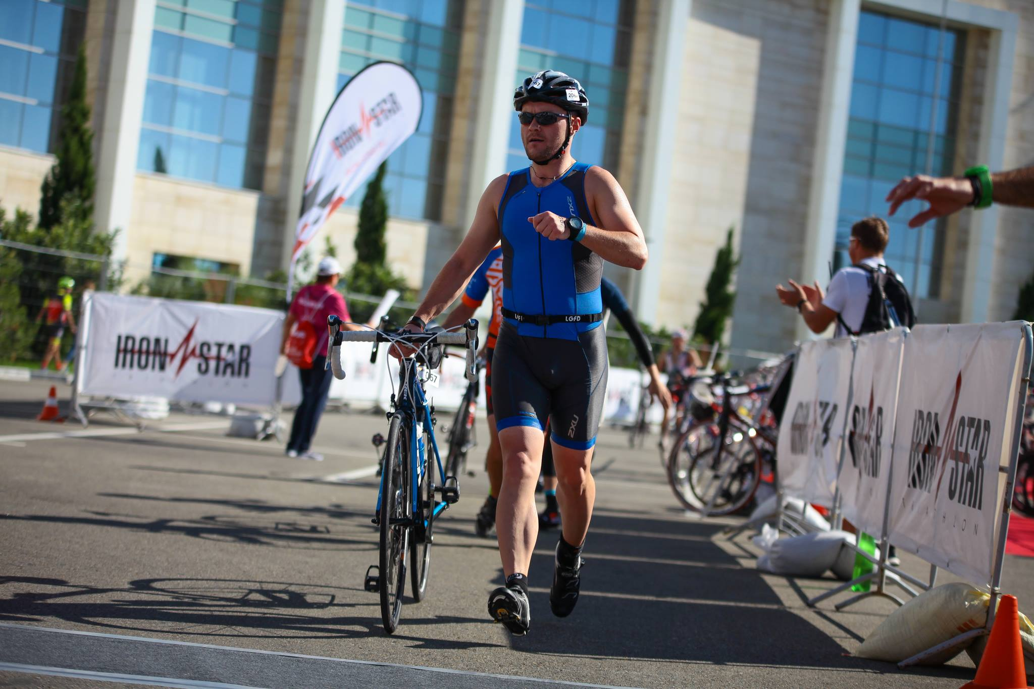 Выход из транзитки Ironstar Sochi Olympic triathlon