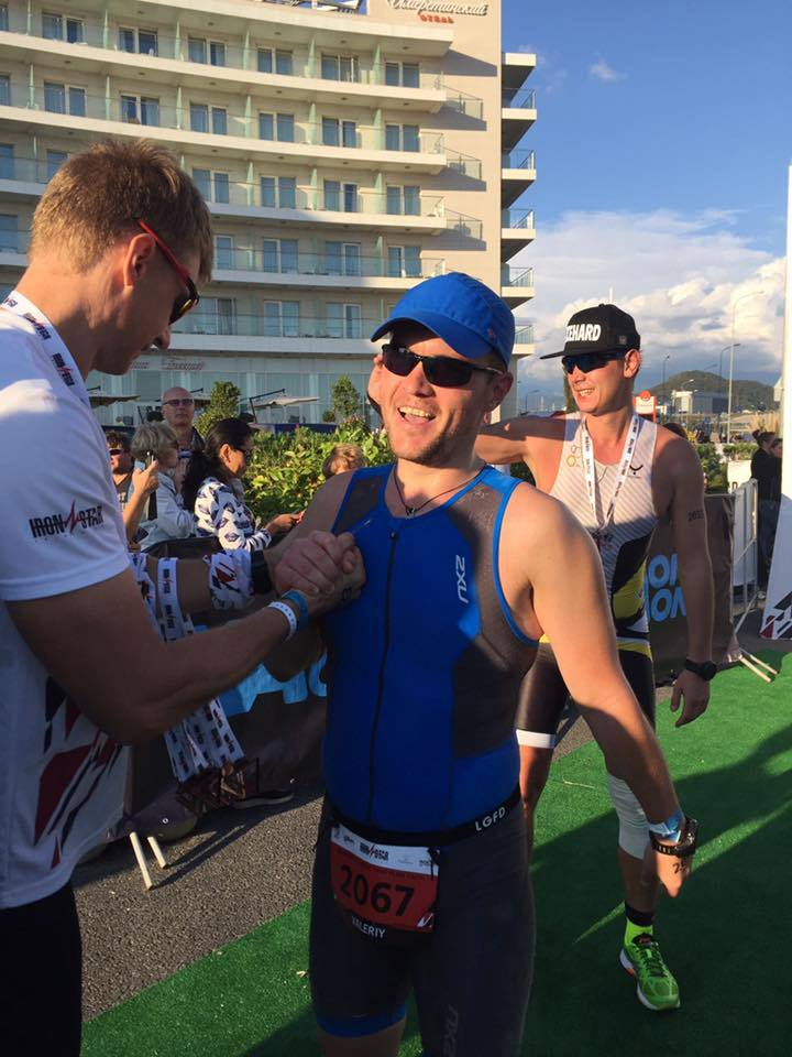 Финиш Ironstar Sochi Olympic triathlon