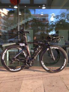 Велосипед готов к гонке