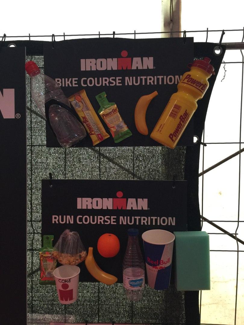 Питание на Ironman Barcelona