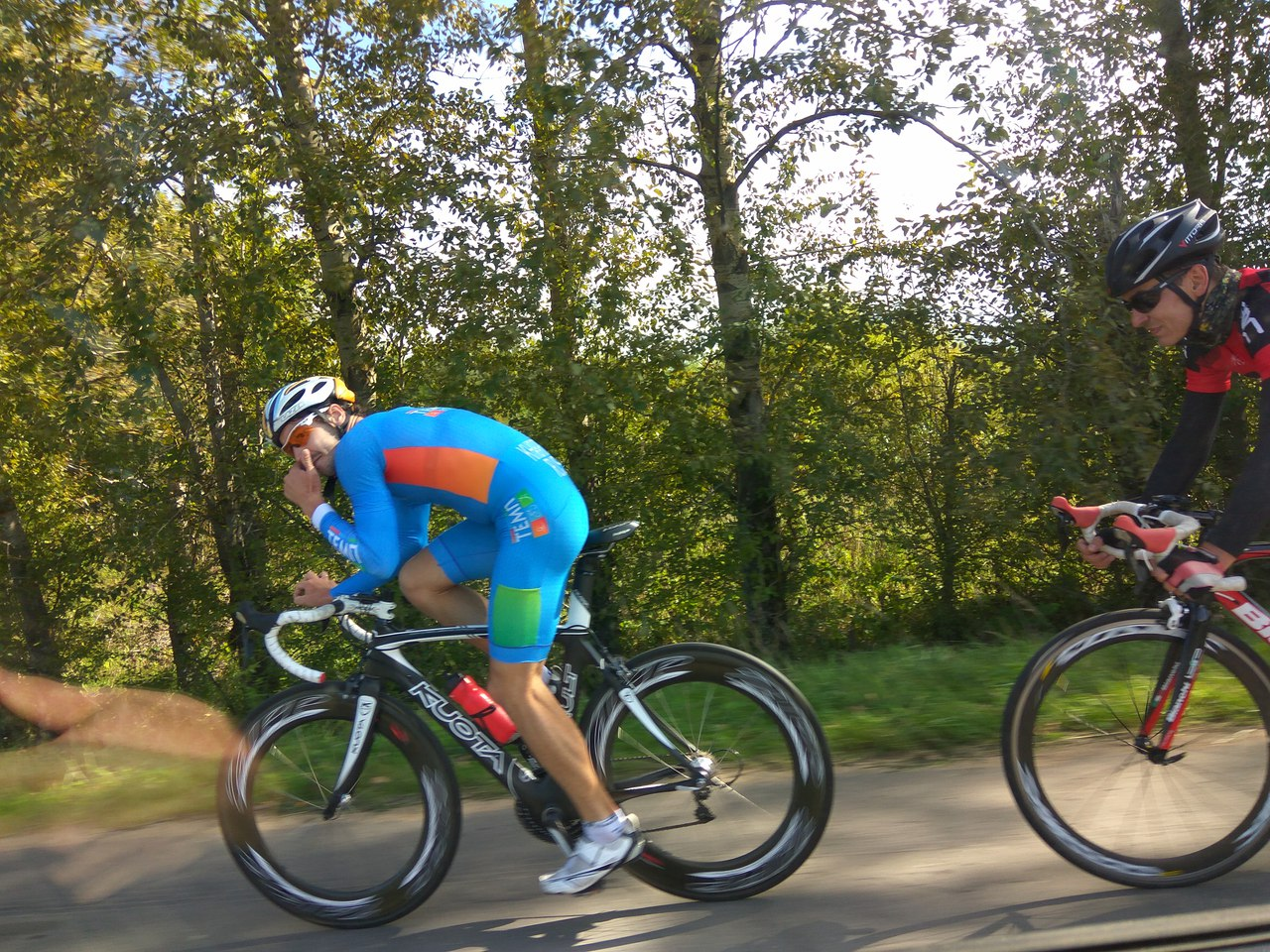 Велогонка в Рыбинске