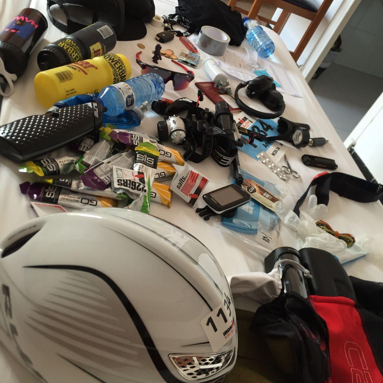 Проверка checklist перед Ironman
