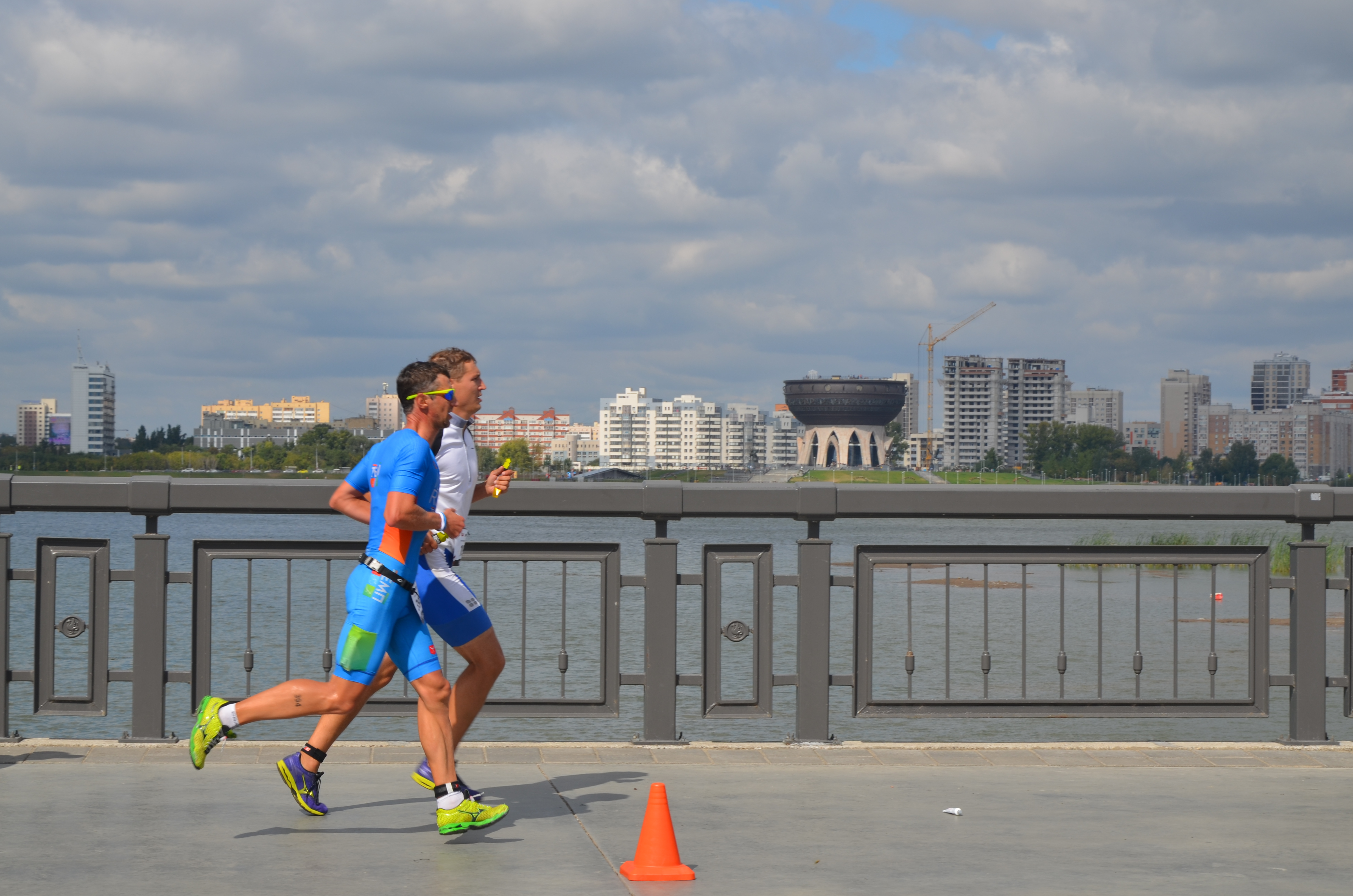 Беговой этап в Казани