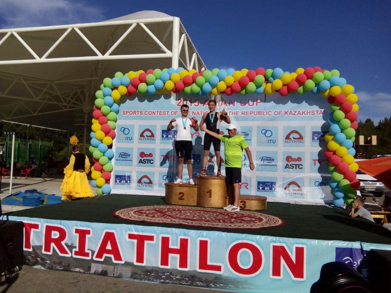 Кубок Азии по триатлону в Казахстане