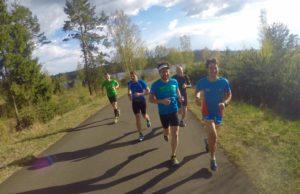 Сборы по триатлону в Дёмино