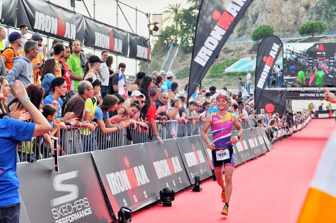 Финиш на Ironman Barcelona