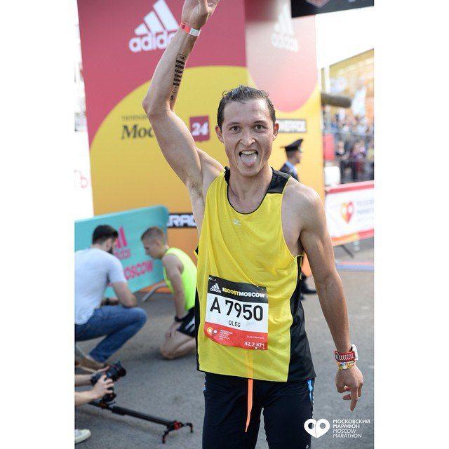 10км на московском марафоне