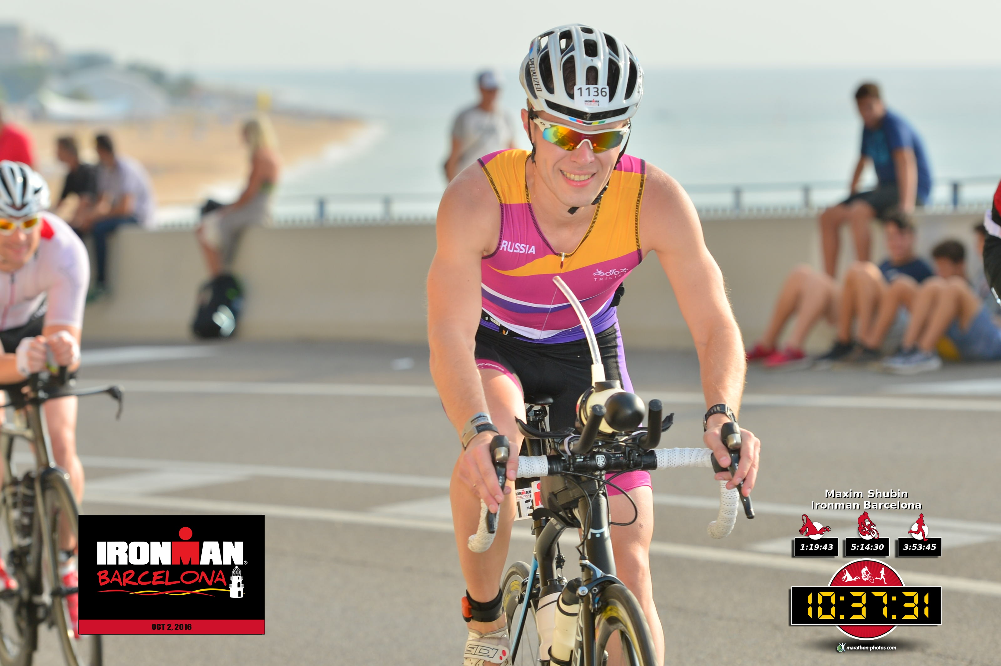 Ironman Barcelona вело этап