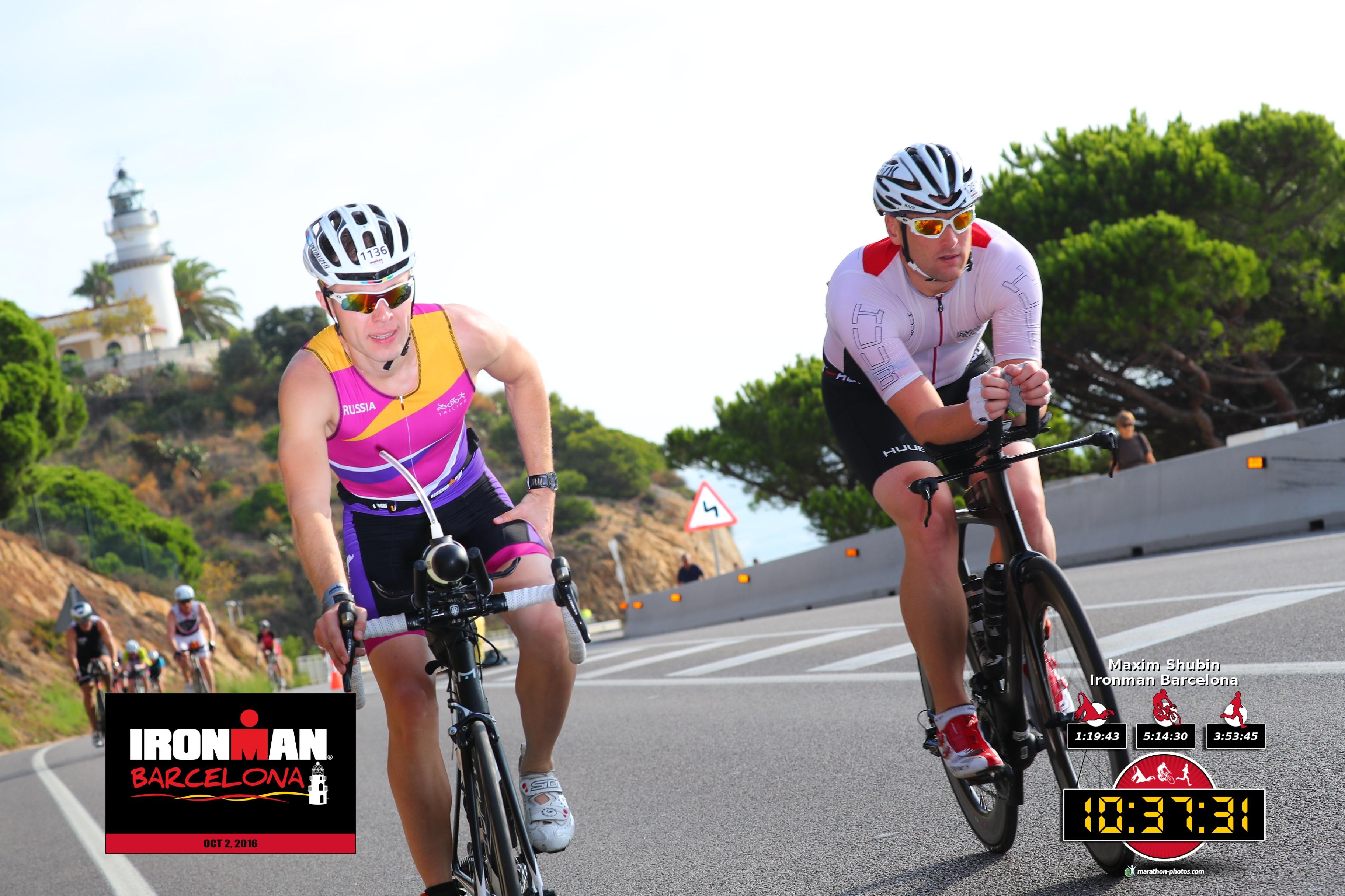 Ironman Barcelona на вело этапе