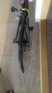 Велосипед после падения