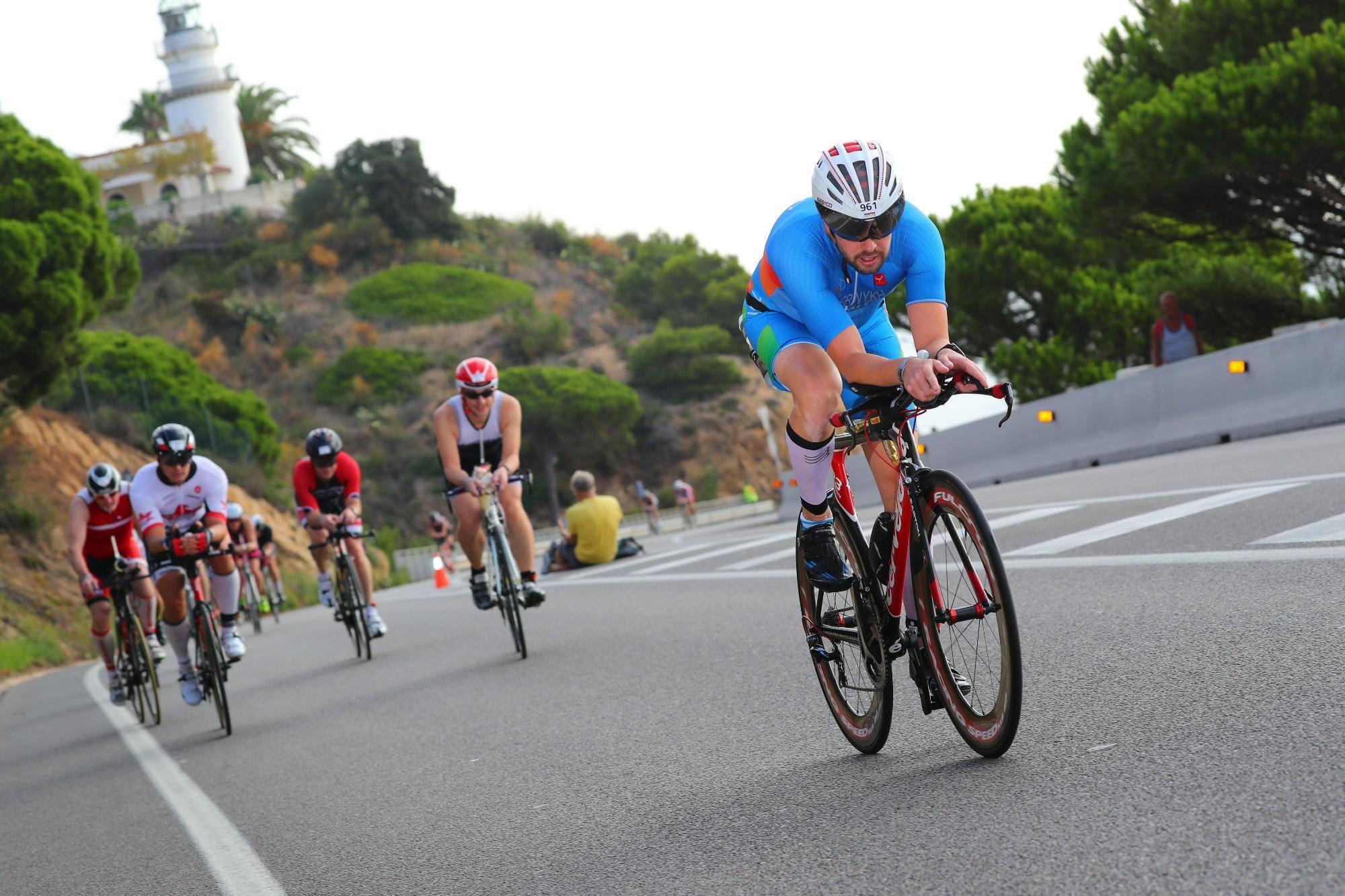 Велоэтап Ironman Barcelona