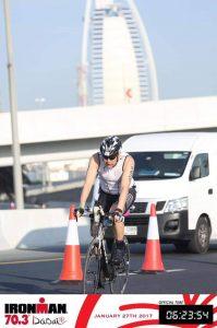 Ironman 70.3 Dubai велоэтап