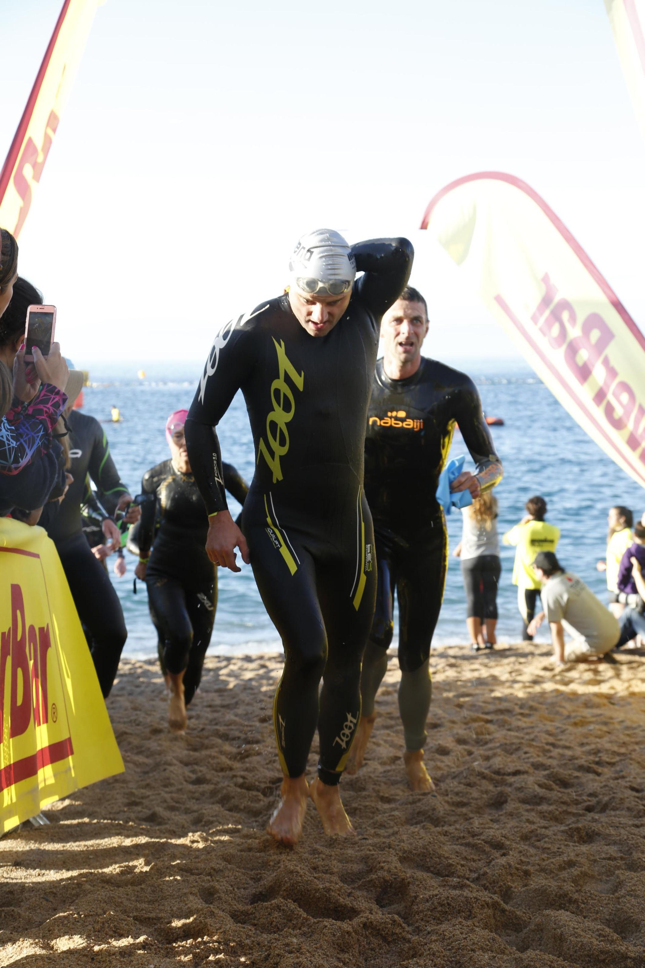 Ironman 70.3 Barcelona плавание