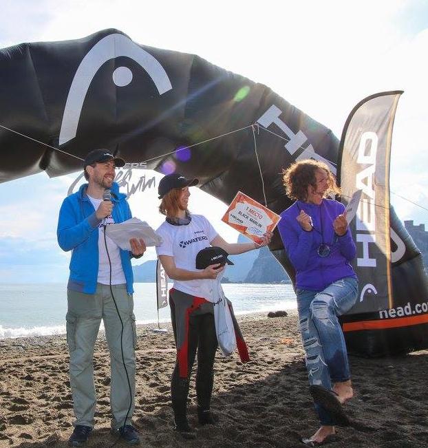 Награждение победителя CrimeaSwim