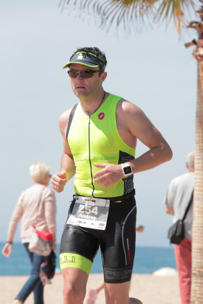 Ironman 70.3 Barcelona бег