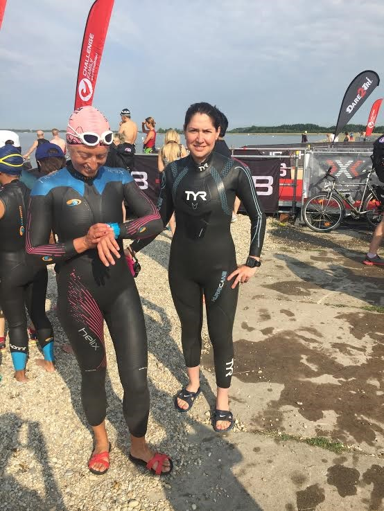 Тест плавательного этапа на Challenge Samorin