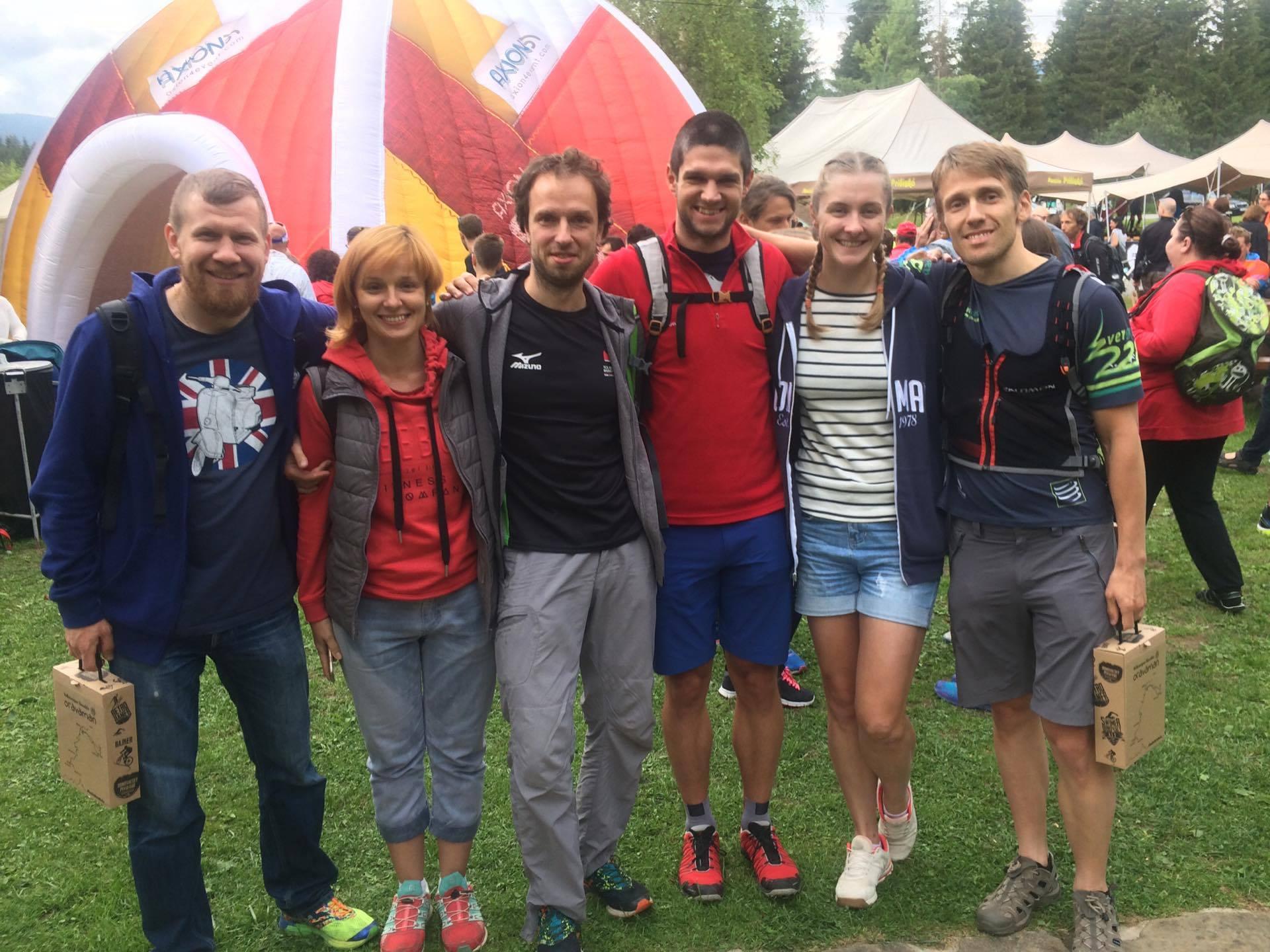 Представители России на триатлоне Oravaman