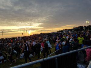 Перед стартом на Ironman 70.3 Dublin