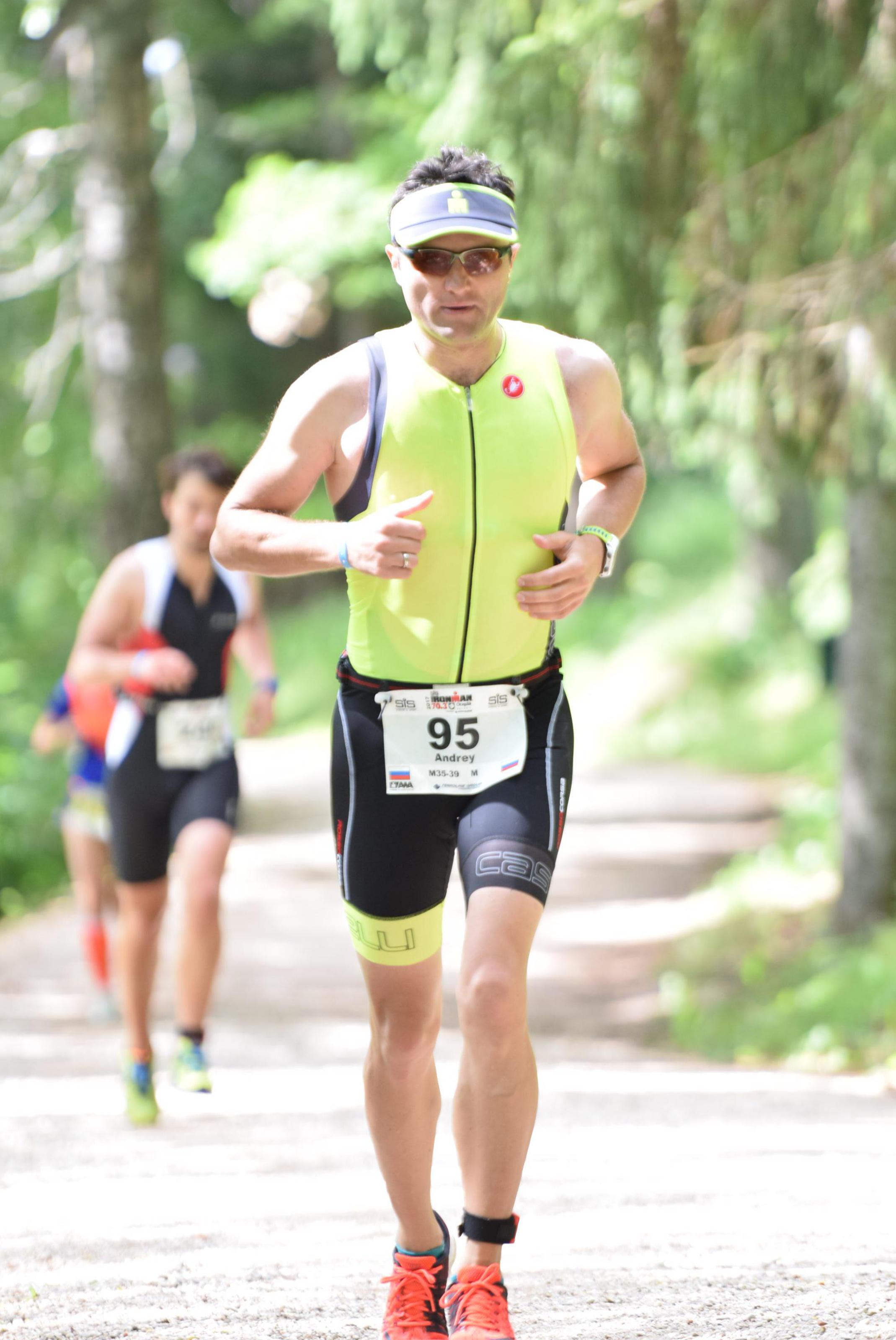 Ironman 70.3 Otepaa беговой этап
