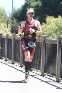 Беговой этап на Ironman Santa Rosa