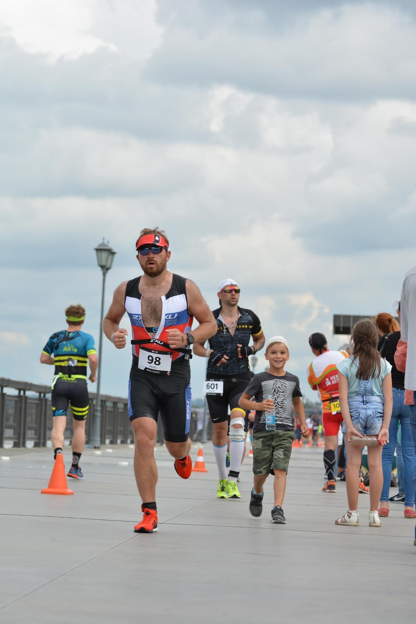 Поддержка на беговом этапе Ironstar 113 Kazan