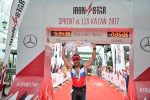 Финиш на Ironstar 113 Kazan