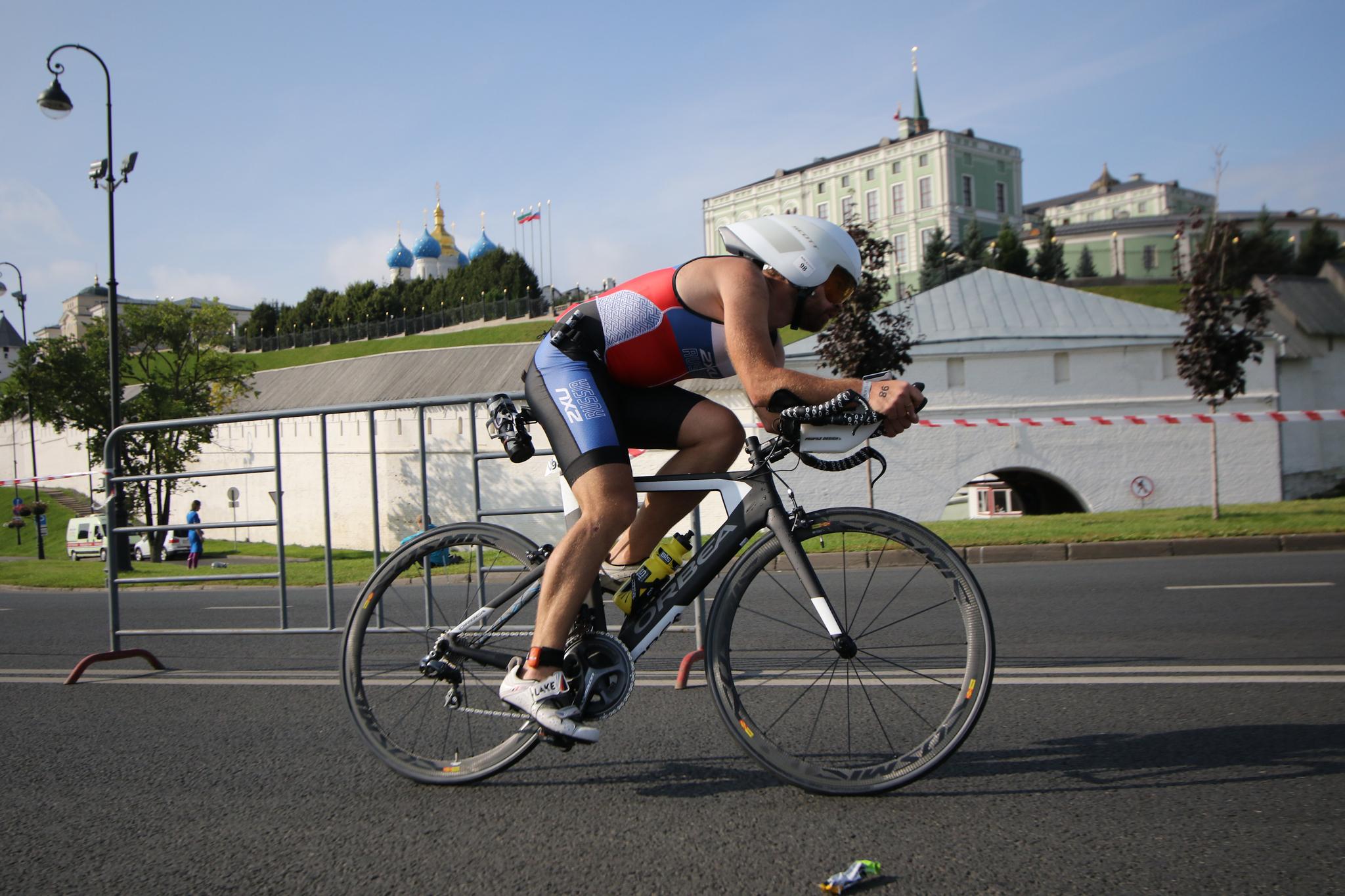 Велоэтап по центру Казани на Ironstar 113 Kazan