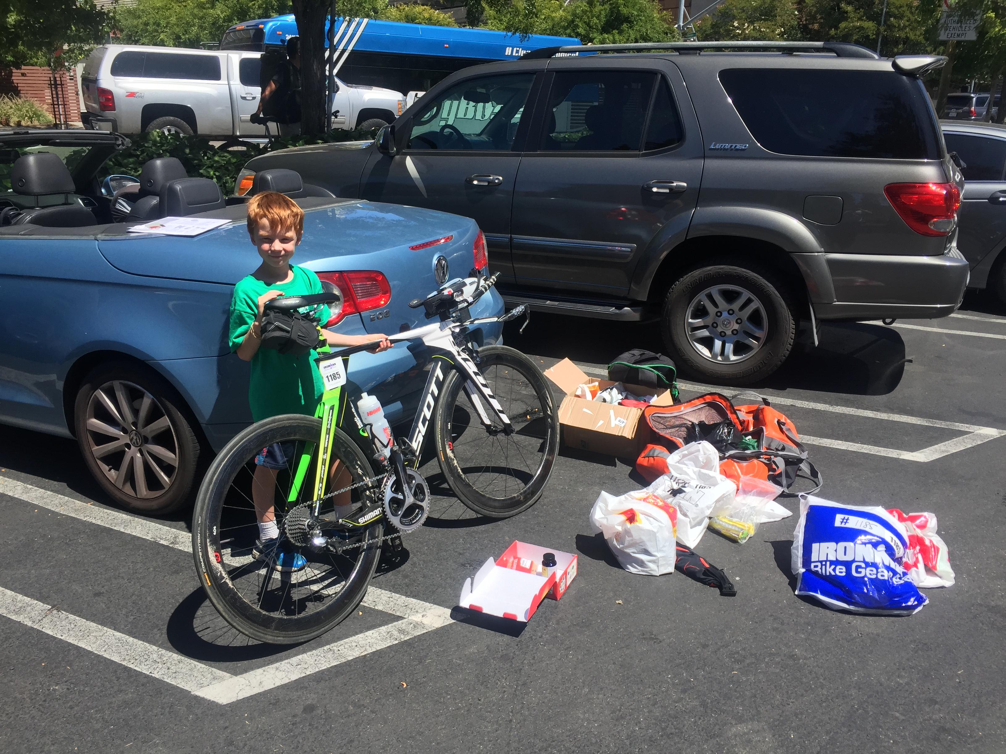 Подготовка к Ironman Santa Rosa