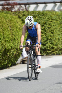 Начало велоэтапа на Ironman 70.3 Zell am See