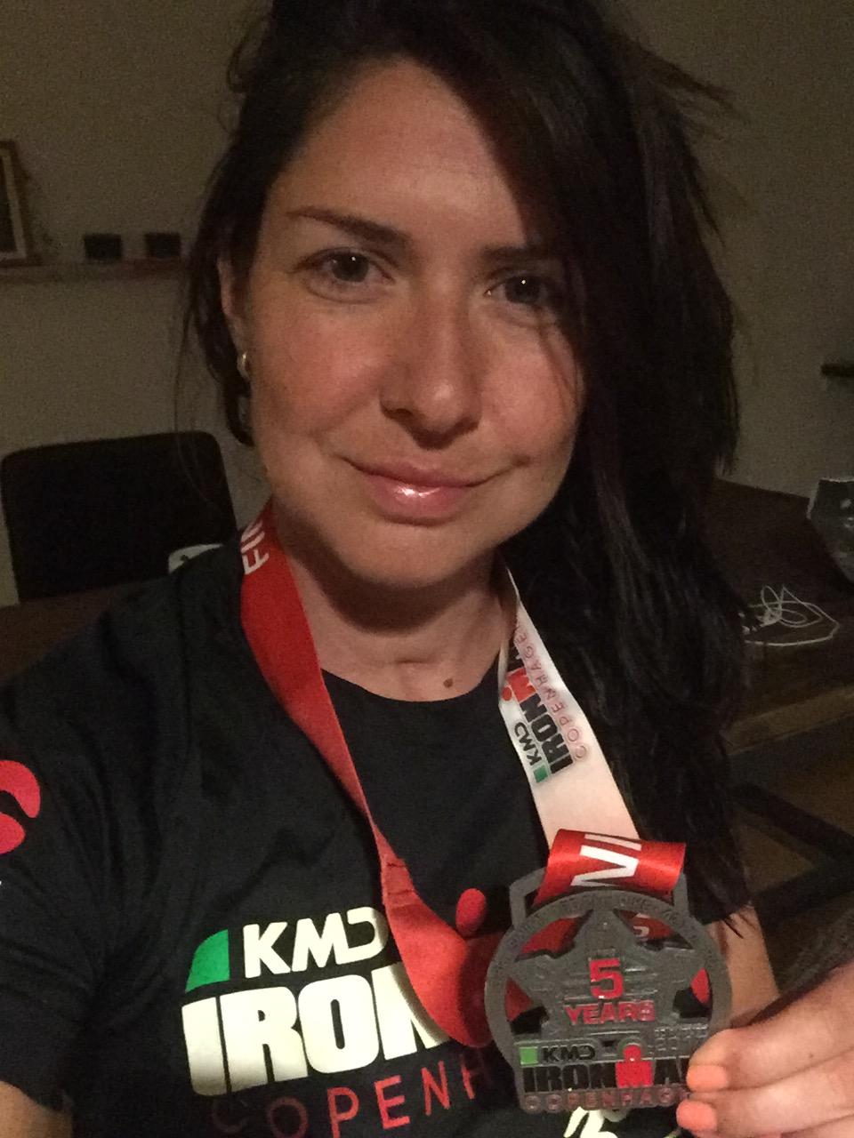 Медаль Ironman Copenhagen