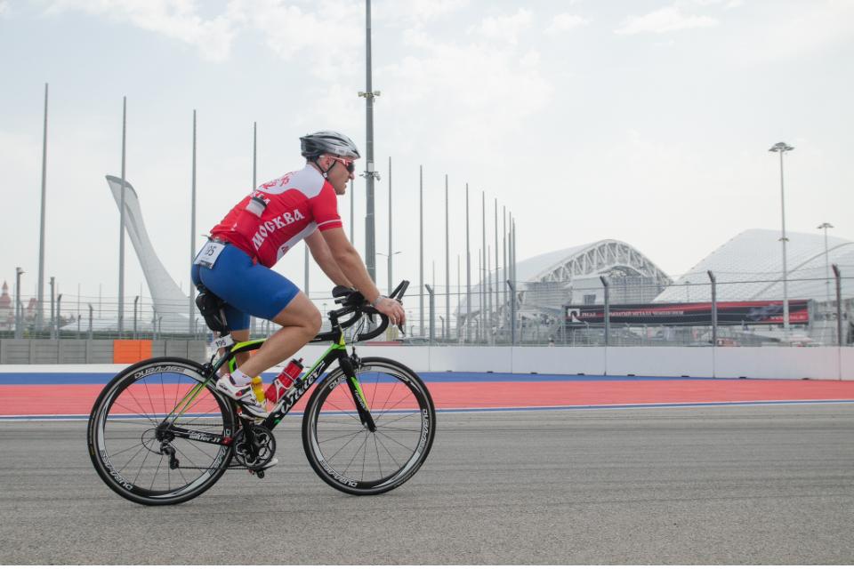 Велоэтап этап на Ironstar 226 Sochi