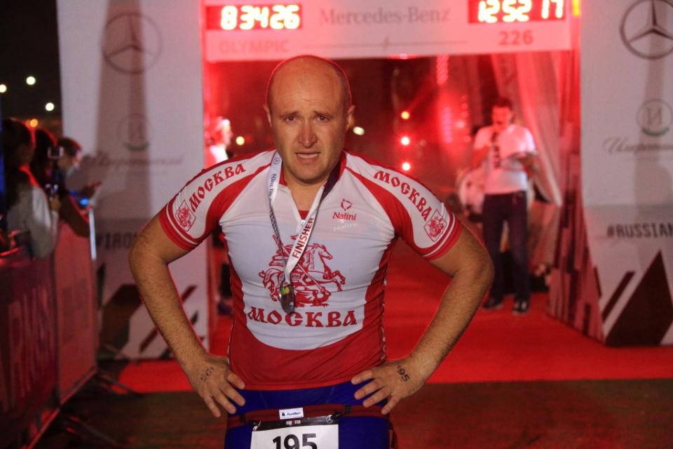 Финиш на Ironstar 226 Sochi