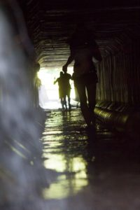Тунель на Oka Trail 80