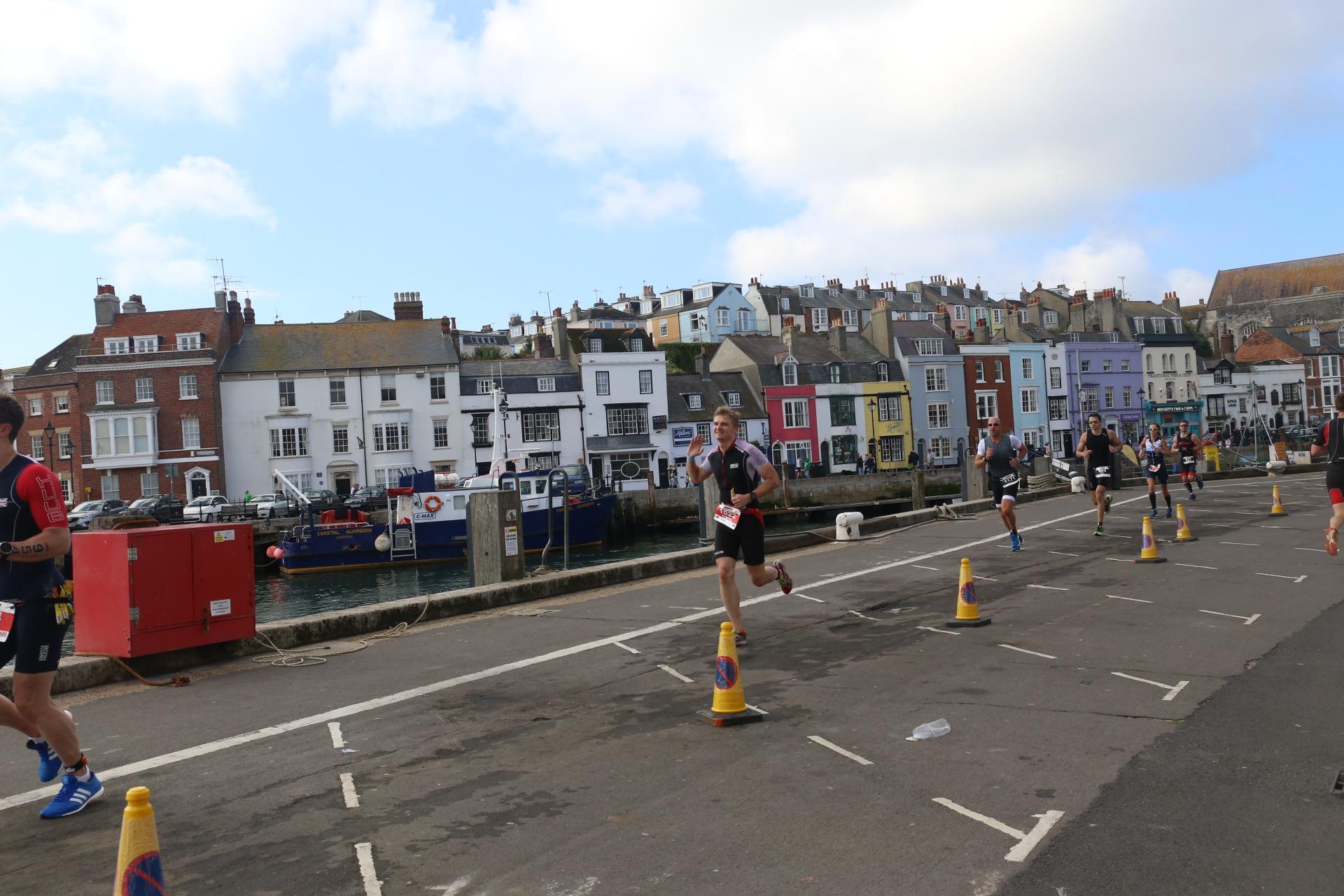 Беговой этап Ironman 70.3 Weymouth