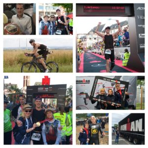 Коллаж с Ironman Frankfurt