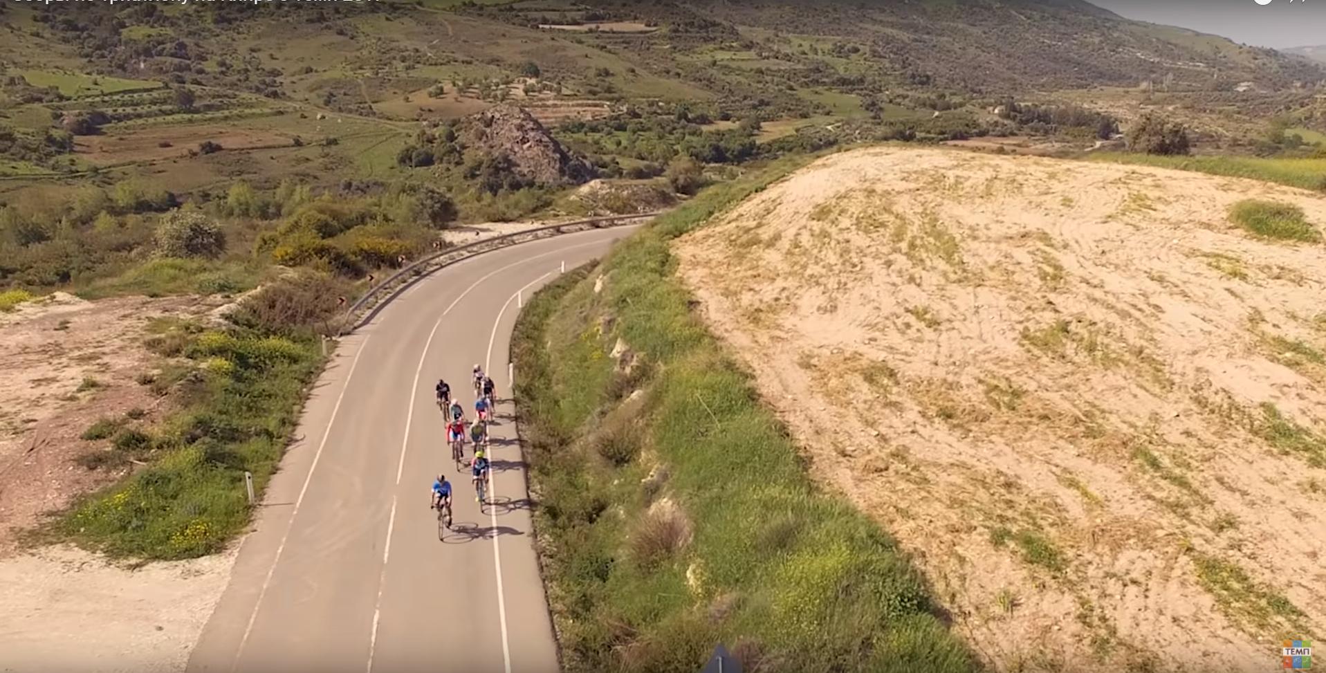 Пейзажи велотренировок в Пафосе