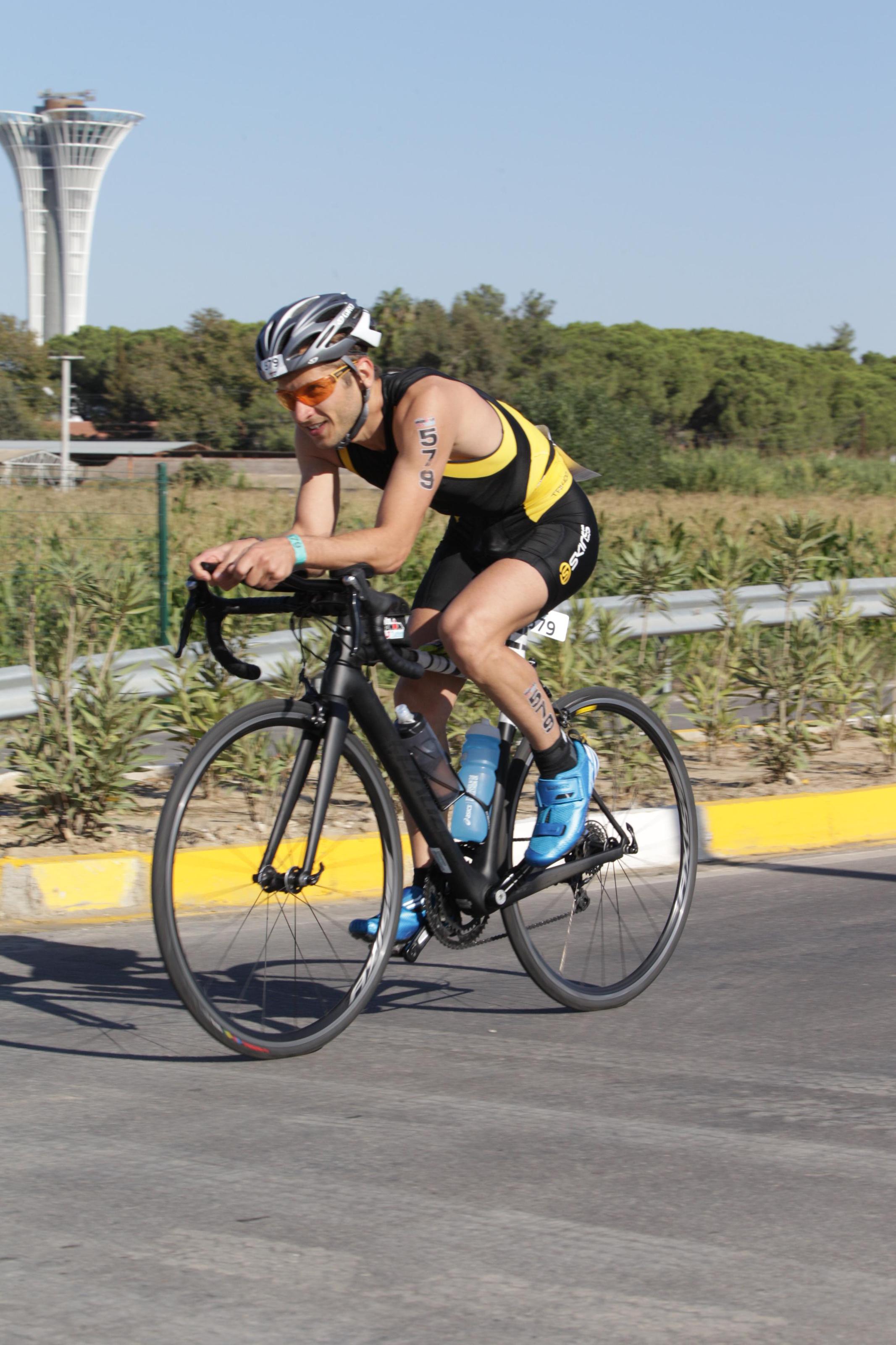 Велоэтап соревнований Ironman 70.3 Turkey