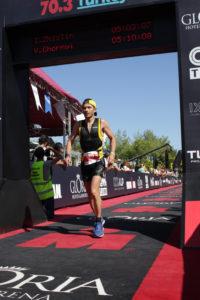 Финишная арка Ironman 70.3 Turkey