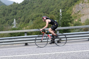 Дорога из Красной Поляны на велосипеде