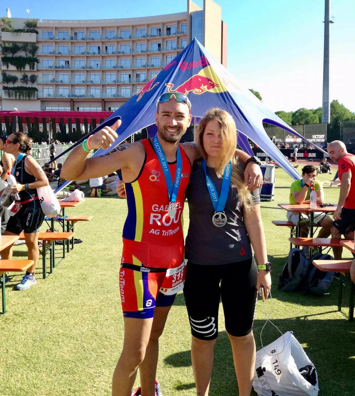 После финиша Ironman 70.3 Turkey