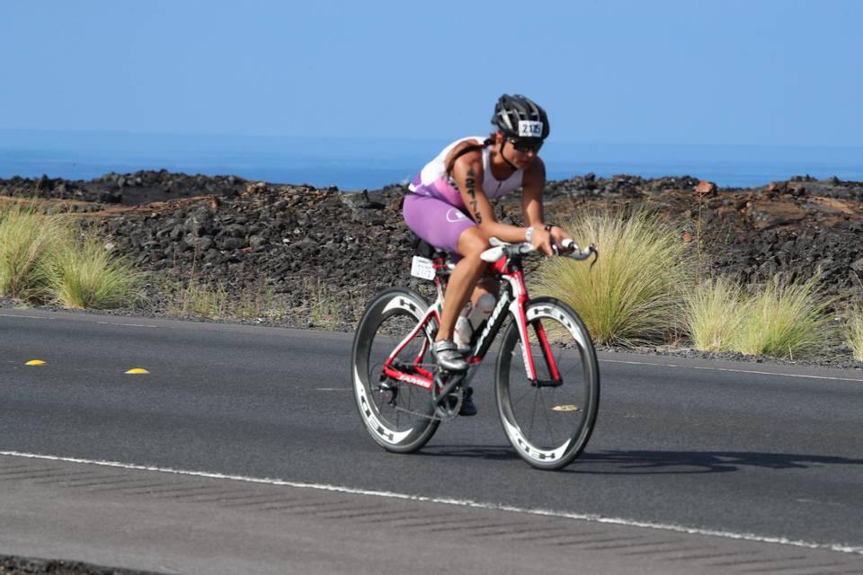 Лавовые поля велоэтапа Ironman Worldchampionship Кона