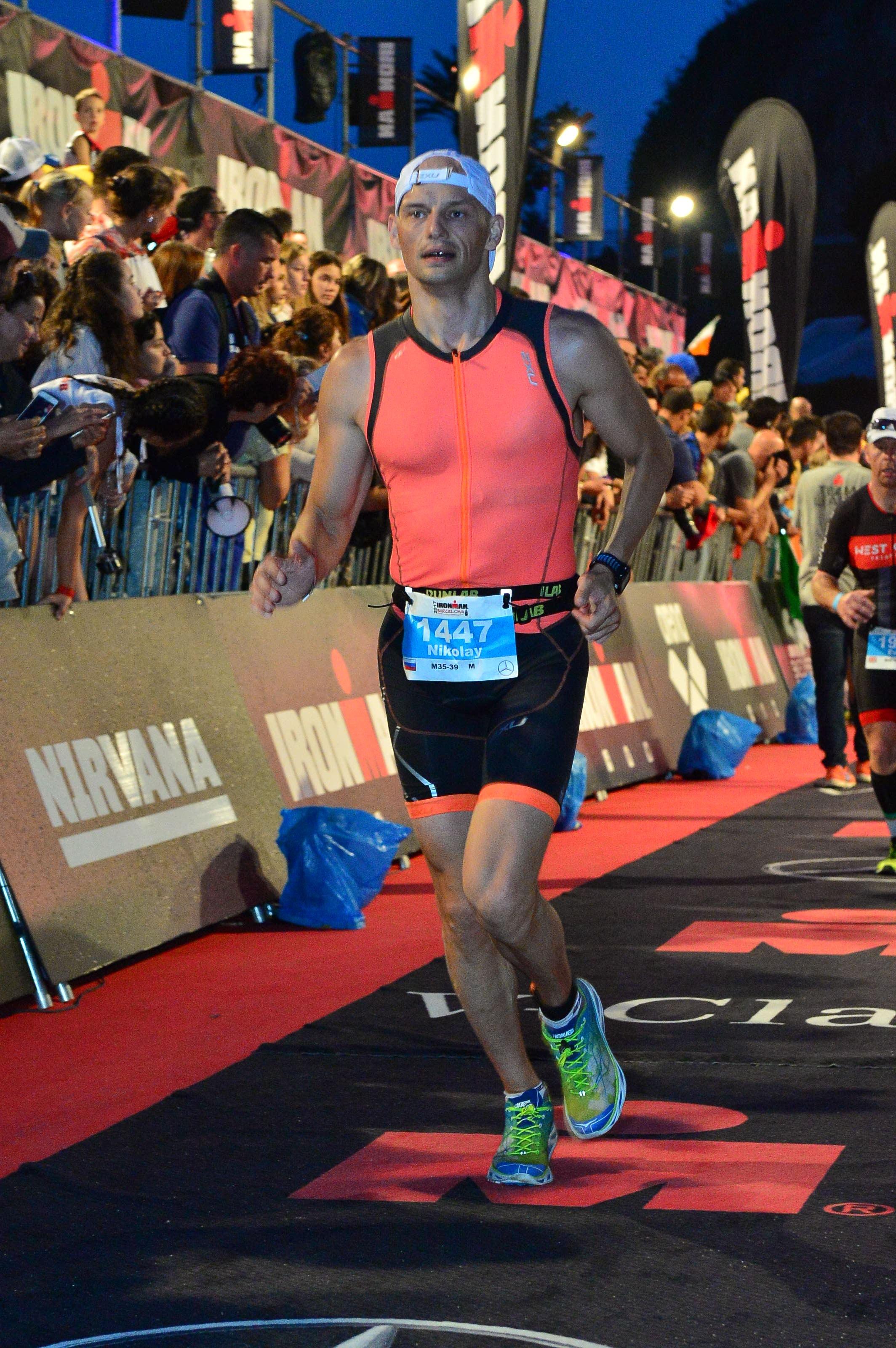 Бегом к финишу Ironman Barcelona
