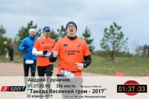 Андрей Груничев на Весеннем Громе