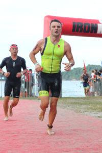 Выход из воды на Ironman 70.3 Langkawi