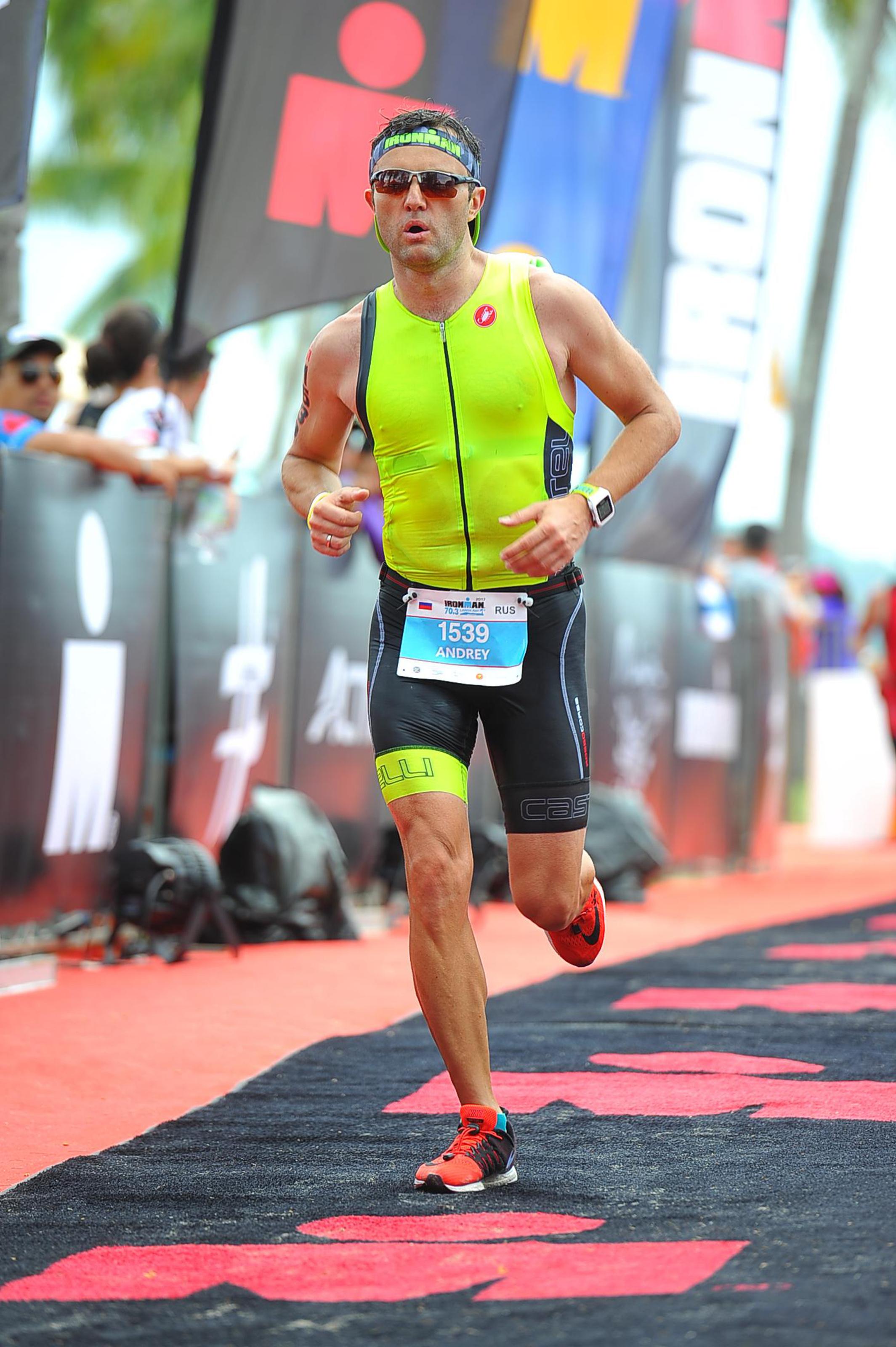 Бег на Ironman 70.3 Langkawi