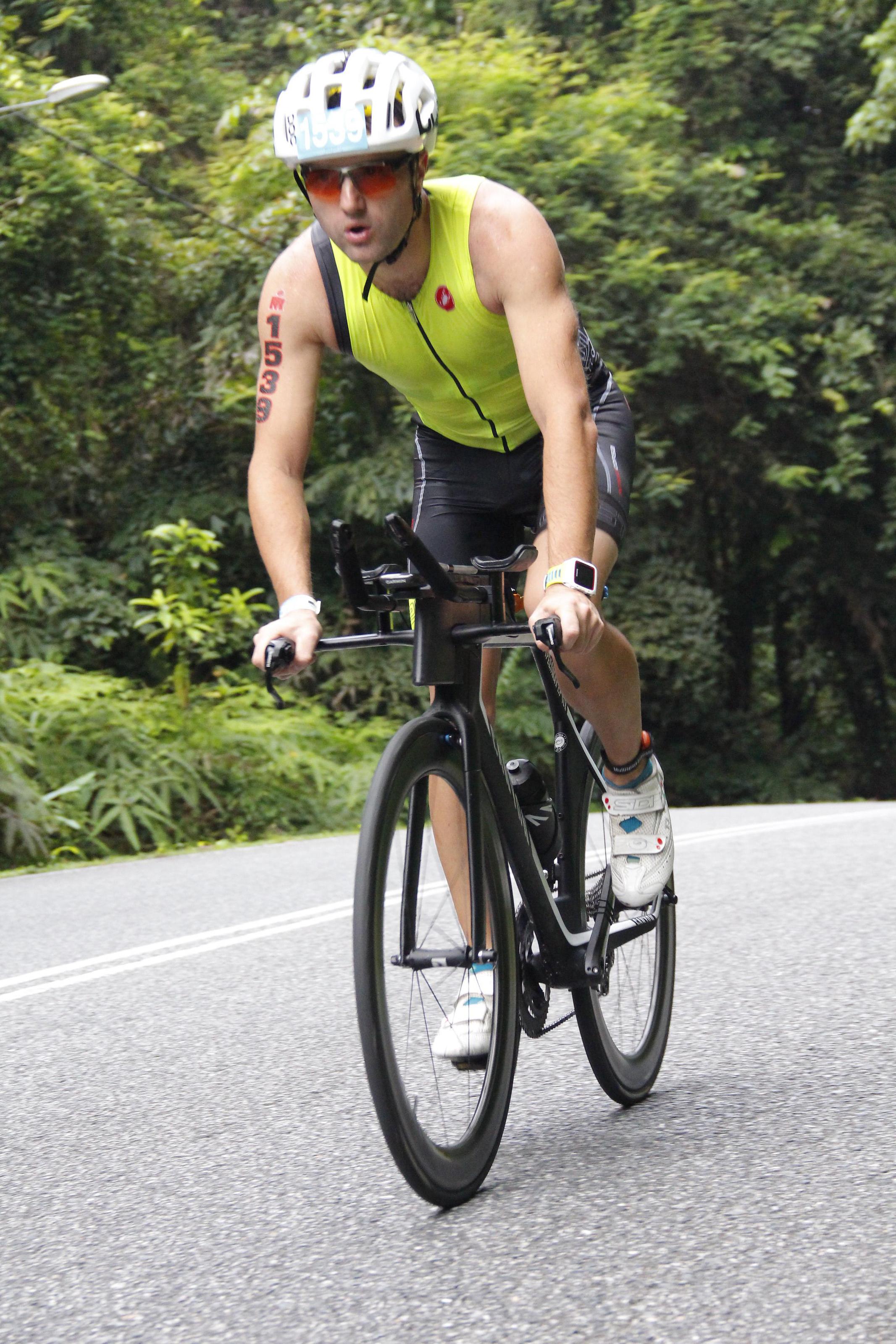 На пути к финишу велоэтапа