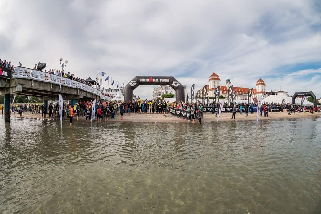 Пляж города Бинц - старт Ironman 70.3 Reugen