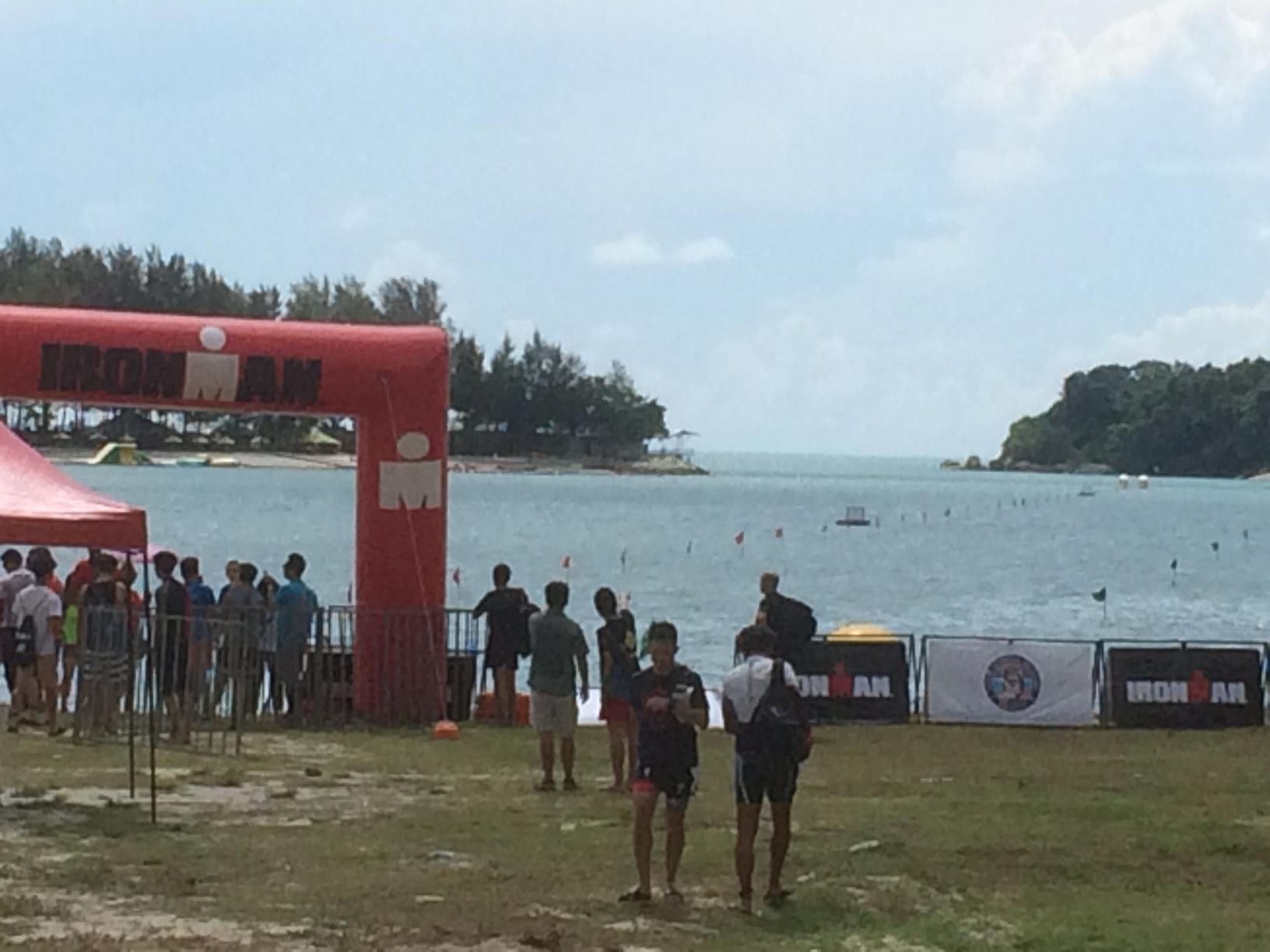 Старт Ironman 70.3 Langkawi