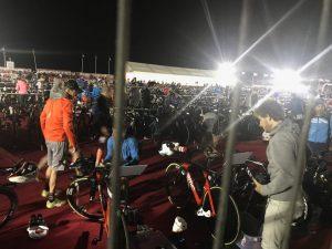 Транзитная зона Ironman 70.3 Dubai